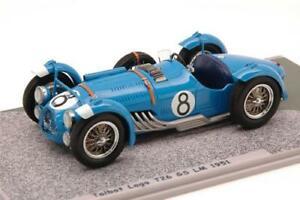 【送料無料】模型車 mans スポーツカー bizarre ルマンモデルtalbot lago 1951 t26 gs n8 retired le mans 1951 chaboud 143 bizarre bz431 model, Scroll Beauty:43b28216 --- sunward.msk.ru