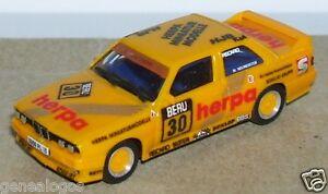 【送料無料】模型車 スポーツカー マイクロホラリーmicro herpa ho 186 187 bmw m3 yellow 30 rally