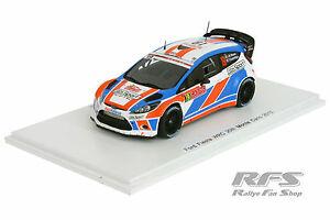【送料無料】模型車 スポーツカー フォードフィエスタラリーモンテカルロスパークford fiesta rs wrcraouxrally monte carlo 2015 143 spark 4514