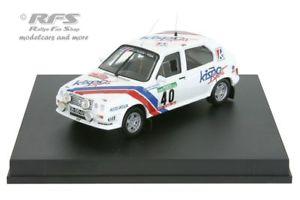 【送料無料】模型車 スポーツカー シトロエンビザクロノラリーポルトガルcitroen visa chronorally portugal 1983fontes 143 trofeu mp 119