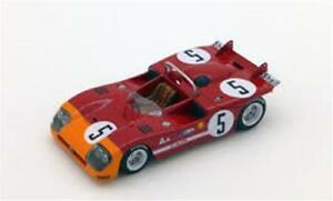 【送料無料】模型車 スポーツカー アルファロメオ#タルガフローリオスケールモデルalfa romeo tipo 333 5 winner targa florio 1971 true scale 143 tsm124306 model