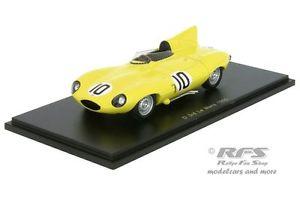 【送料無料】模型車 143 スポーツカー ジャガータイプルマンスパークjaguar dtype 24h 24h le le mans 1955 claes swaters 143 spark 4388, アイコンズ スーパーストア:264a89dd --- sunward.msk.ru