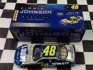 【送料無料】模型車 スポーツカー ジミージョンソン#ロウモンテカルロアクションjimmie johnson 48 lowes kobalt 2006 monte carlo 124 action 1 of 1,600