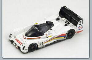 【送料無料】模型車 スポーツカー プジョー#ルマンデスパークモデルpeugeot 905 ev1 to 31 le mans 1992 lcbv de poele 143 spark s2596 model