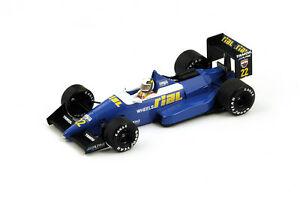 【送料無料】模型車 スポーツカー スパークリアルarc122ベルギーgp1988アンドレアdeチェーザリs4311 143spark rial arc1 22 belgium gp 1988 andrea de cesaris s4311 143