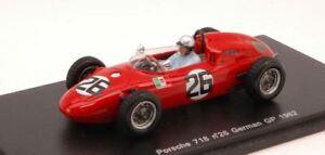 【送料無料】模型車 スポーツカー ポルシェ718vaccarella 19622615ドイツgp 143スパークs1863モデルporsche 718 vaccarella 1962 26 15th german gp 143 spark s1863 model