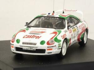 【送料無料】模型車 スポーツカー トヨタセリカモンテカルロラリーtoyota celica st205 monte carlo rally 1995 aurioloccelli 143 trofeu 717
