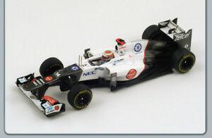 【送料無料】模型車 スポーツカー ザウバーフェラーリ#モナコグランプリスパークモデルsauber c31ferrari k kobayashi 2012 14 monaco gp 143 spark s3032 model