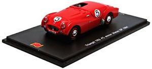 【送料無料】模型車 スポーツカー #マカオグランプリカルバーリョスパークモデルtriumph tr2 5 winner macau gp 1954 ecarvalho red spark 143 sa060 model