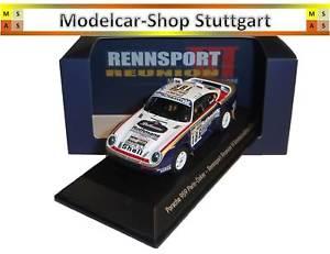 【送料無料】模型車 スポーツカー ポルシェパリダカールラリーレーシングスパークporsche 959 parisdakar racing reunion vi spark limited edition 143
