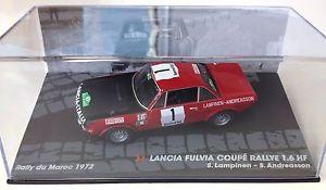 【送料無料】模型車 スポーツカー ランチアクーペラリーネットワークモデルカー143 lancia fulvia coupe 16 hf rally maroc lampinen 1972 ixo model car