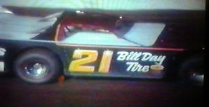 【送料無料】模型車 スポーツカー セールモデル1985 volusia speedweek stars winternationals 4 dirt late model set