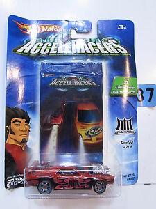 【送料無料】模型車 スポーツカー ホットホイール#ゲームカード2004 hot wheels acceleracers rivited 49 3 collectible game cards