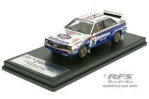 【送料無料】模型車 スポーツカー アウディクワトロラリーイープルジョンボッシュスカラaudi quattro a2 rally ypres 1986john bosch 143 trofeuscala 43