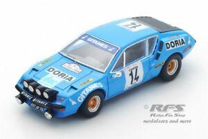 【送料無料】模型車 スポーツカー ルノーアルパインツールドコルススパークrenault alpine a310 gitanes rallye tour de corse 1976 manzagol 143 spark 5479
