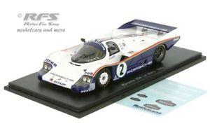 【送料無料】模型車 スポーツカー ポルシェルマンヨッヘンマススパークporsche 956 24h le mans 1983jochen massstefan bellof 143 spark 5504