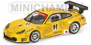 【送料無料】模型車 スポーツカー ポルシェグアテマラチームドコノプカporsche 911 gt3 rsr team t2m yamagishi de fournoux konopka essais 2006 143