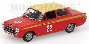 【送料無料】模型車 スポーツカー ロータスコルチナサージョンクラスブダペストlotus cortina mki sir john whitmore class winner etcc budapest nagydij 1964 143