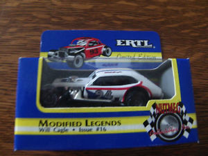 【送料無料】模型車 スポーツカー #テロダートピントwill cagle 24 tampa terror dirt modified legends pinto 164 ertl