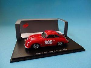 【送料無料】模型車 スポーツカー ポルシェ#モンテカルロラリースパークporsche 356 306 l stross nextmonte carlo rally 1958 143 spark s1354