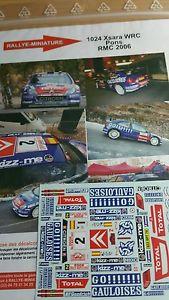 【送料無料】模型車 スポーツカー デカールシトロエンクサラポンスモンテカルロラリーラリーdecals 143 ref 1024 citroen xsara wrc pons rallye monte carlo 2006 rally