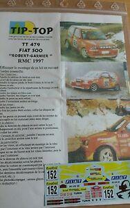 【送料無料】模型車 スポーツカー デカールフィアットアバルトセドリックロバートモンテカルロラリーラリーdecals 143 ref 479 fiat 500 abarth cedric robert rallye monte carlo 1997 rally