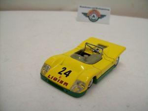 【送料無料】模型車 スポーツカー #ルマンフランスligier js3 24 le mans 1971, yellow, solido made in france 143