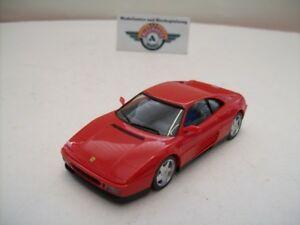 【送料無料】模型車 スポーツカー フェラーリドイツferrari 348 tb, red, 1989, herpa made in germany 143