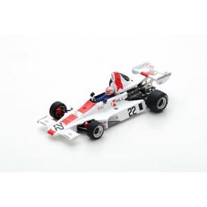 【送料無料】模型車 スポーツカー スパーク#グランプリアランジョーンズspark hill gh1 22 5th british gp 1975 alan jones s5675 143