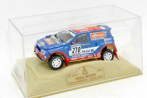 【送料無料】模型車 スポーツカー メガボックスダカールラリーパリnorev 143 aixam mega desert paris dakar 2000 with its box