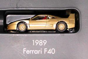【送料無料】模型車 スポーツカー フェラーリハイテクゴールドシリーズモデルトップherpa 187 ferrari f40 high tech 1986 gold series model top