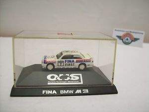 【送料無料】模型車 スポーツカー bmw m3 e30 7 cecotto dtm 1992, herpa 187, ovp