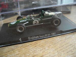 【送料無料】模型車 スポーツカー ブラバムヒュームフォーミュラフォーミュラグランプリbrabham bt24 rebco hulme 1967 rba formula 1 143 formula one f1 grand prix