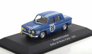 【送料無料】模型車 スポーツカー 143gordiniサガルノー8gordini89モンテカルロ1969143 atlas gordini saga renault 8 gordini 89 rally monte carlo 1969