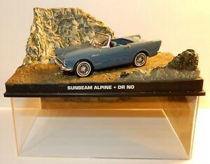 【送料無料】模型車 スポーツカー ジェームズボンドサンビームボックスアルパインjames bond 007 fabbri sunbeam alpine dr no 143 in box