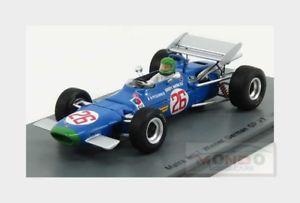 【送料無料】模型車 スポーツカー matra f1 ms726ドイツgp 1969アンリーpescarolospark 143 s4290momatra f1 ms7 26 winner german gp 1969 henri pescarolo blue spark 14