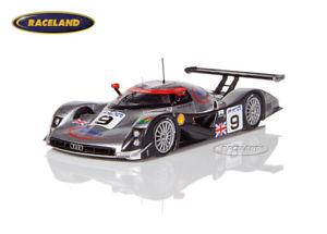 【送料無料】模型車 スポーツカー アウディr8cインフィネオンアウディスポーツle1999ortelliヨハンセンabtスパーク143audi r8c infineon audi sport uk le mans 1999 ortellijohanssonabt, spark