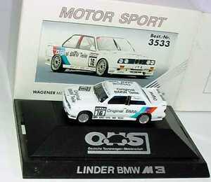 【送料無料】模型車 スポーツカー 187 bmw m3 e30 dtm 1991 linder original pices 16 altfrid herpa 3533