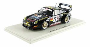 【送料無料】模型車 スポーツカー ポルシェグアテマラ#モデルporsche 911 gt2 77 18th lm 1996 t suzukig kusterm jurasz 143 model