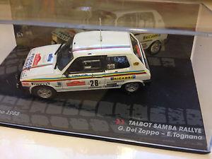 【送料無料】模型車 スポーツカー シンコペーションtalbot samba san remo 1983 del143 rally collectible diecast car  ixotalbot samba san remo 1983 del zoppo 143 rall