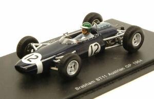【送料無料】模型車 スポーツカー ブラバムbt11 jrindt 196412オーストリアgp 143モデルs4335スパークモデルbrabham bt11 j rindt 1964 12 retired austrian gp 143 model s4335 spark mo