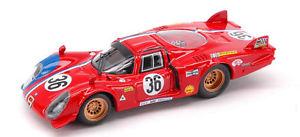 【送料無料】模型車 スポーツカー アルファロメオ#モデルモデルalfa romeo 332 36 52th lm 1969 piletteslotemaker 143 model best models