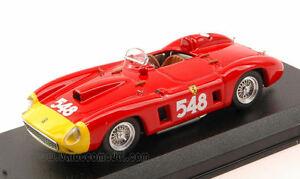 【送料無料】模型車 スポーツカー フェラーリ290mm549ミルミグリア1956ecastellotti 143モデルモデルferrari 290 mm 549 winner mille miglia 1956 e castellotti 143 model artmodel