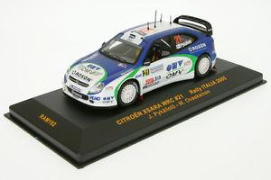 【送料無料】模型車 スポーツカー ラムシトロエンクサララリー143 ram 192 citroen xsara wrc pyklist rally sard 05