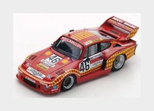 【送料無料】模型車 スポーツカー 46ルマン1980スパーク143 s5501ポルシェ935 29lターボチームmeccarillosporsche 935 29l turbo team meccarillos racing 46 le mans 1980 spark 143