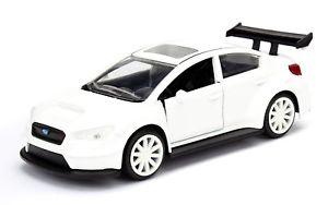 【送料無料】模型車 スポーツカー モデルスバルコレクタfast furious 8 model subaru wrx sti white little nobody 132 collector jada