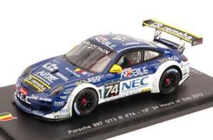 1:43 Spark 4447 Porsche 911 gt2-24h le mans 1996-Fuster//jurasz//Suzuki