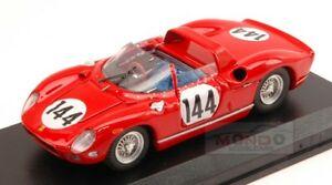 【送料無料】模型車 スポーツカー フェラーリ#ニュルブルクリンクアートタイプferrari 275 p 144 winner nurburgring 1964vaccarella scarfiotti 143 type art183