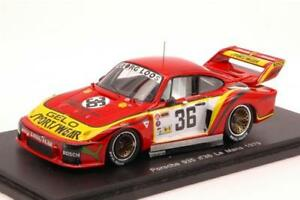 【送料無料】模型車 スポーツカー ポルシェヘイアースパークモデルporsche 935 n36 accident lm 1979 m schurtih heyer 143 spark s4165 model