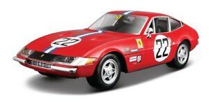 【送料無料】模型車 スポーツカー bburagoフェラーリ365gtb4 competizioneダイカストモデル124 26303bburago ferrari 365 gtb4 competizione diecast model scale 124 26303